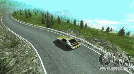 Stelvio Pass Drift Track para GTA San Andreas segunda pantalla