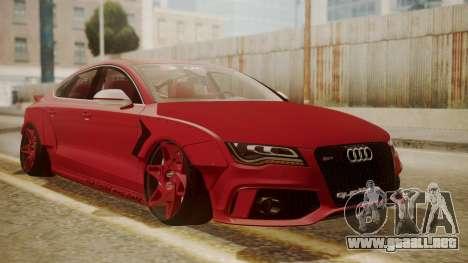 Audi RS7 X-UK L3D para GTA San Andreas