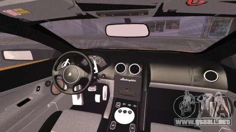 Lamborghini Murcielago 2005 Yuno Gasai IVF para la visión correcta GTA San Andreas