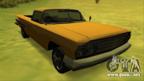 Voodoo El Camino v1 para las ruedas de GTA San Andreas