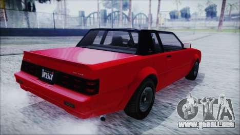 GTA 5 Willard Faction IVF para GTA San Andreas left