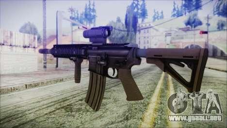 MK18 SEAL para GTA San Andreas segunda pantalla