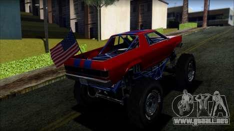 GTA 5 Cheval Marshall IVF para GTA San Andreas left