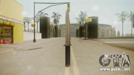 GTA 5 Knife para GTA San Andreas