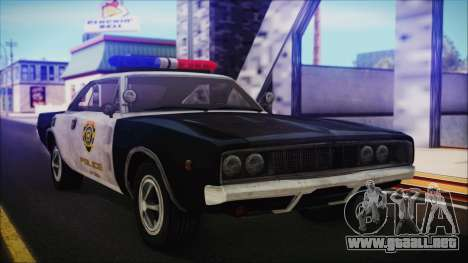 Police Car R.P.D. from RE 3 Nemesis para GTA San Andreas