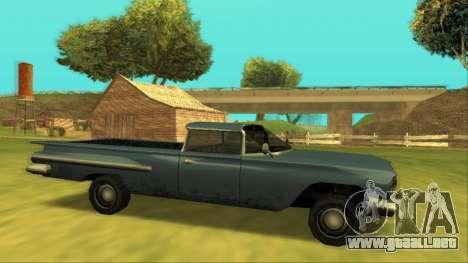 Voodoo El Camino v1 para GTA San Andreas left