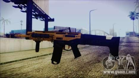 Bushmaster ACR Gold para GTA San Andreas segunda pantalla