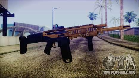Bushmaster ACR Gold para GTA San Andreas