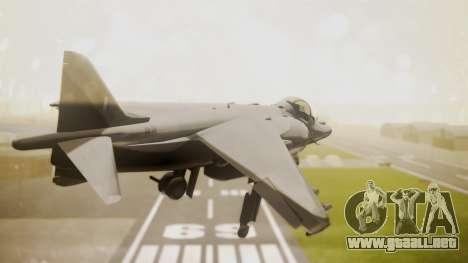AV-8B Harrier Hellenic Air Force HAF para GTA San Andreas left