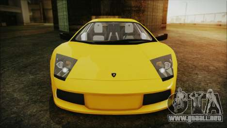 Lamborghini Murcielago 2005 Yuno Gasai IVF para la vista superior GTA San Andreas