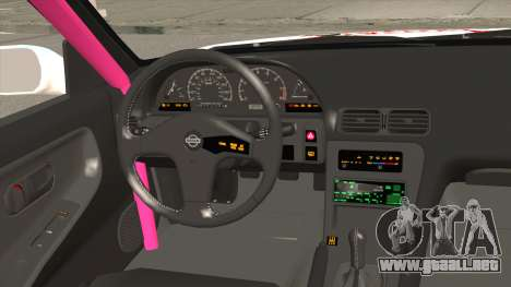 Nissan 240SX Pony Power para visión interna GTA San Andreas
