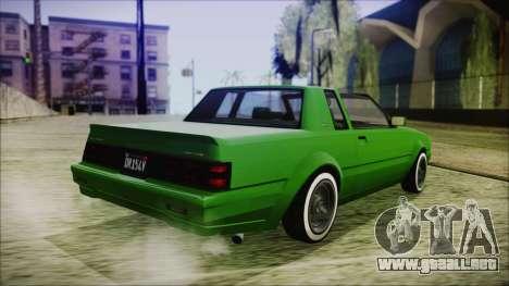GTA 5 Willard Faction Custom para GTA San Andreas left