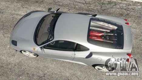 GTA 5 Ferrari F430 2004 vista trasera