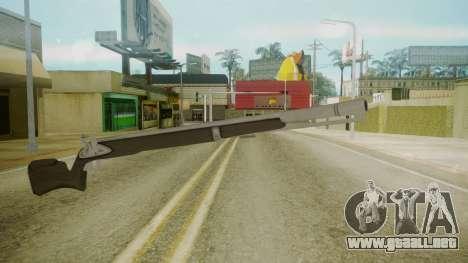 GTA 5 Rifle para GTA San Andreas segunda pantalla
