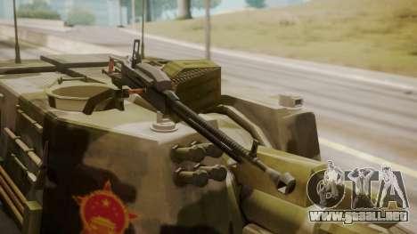 Norinco PLZ-45 155mm para la visión correcta GTA San Andreas