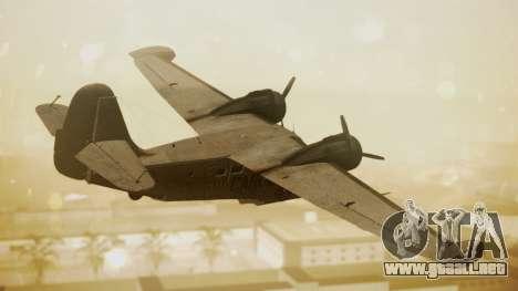 Grumman G-21 Goose N56621 Rusty para GTA San Andreas left