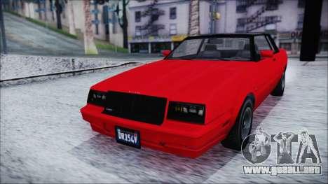 GTA 5 Willard Faction IVF para la visión correcta GTA San Andreas