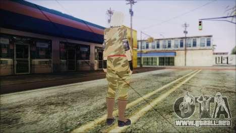 Home Girl Camo para GTA San Andreas tercera pantalla