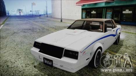 GTA 5 Willard Faction Custom para vista lateral GTA San Andreas