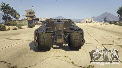GTA 5 The Tumbler vista trasera