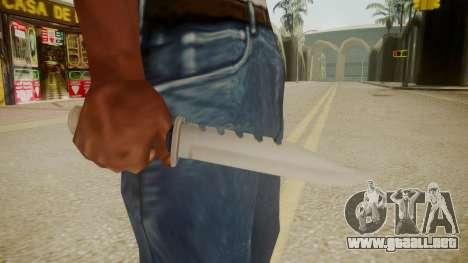 GTA 5 Knife para GTA San Andreas tercera pantalla