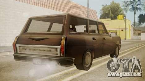 Perennial III para GTA San Andreas left