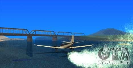 Water Effect para GTA San Andreas sucesivamente de pantalla