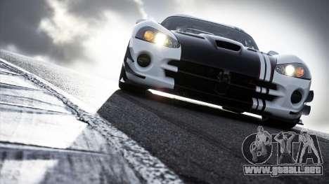 Sportcars Loadscreens para GTA San Andreas sucesivamente de pantalla