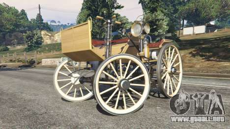 GTA 5 Daimler 1886 [wood] vista lateral derecha