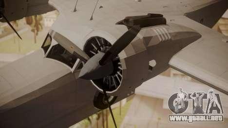 Grumman G-21 Goose Paintkit para la visión correcta GTA San Andreas