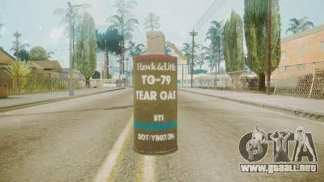 GTA 5 Tear Gas para GTA San Andreas