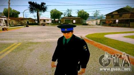 El empleado del Ministerio de Justicia v3 para GTA San Andreas