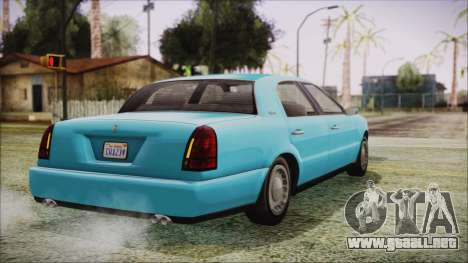 GTA 5 Albany Washington para GTA San Andreas left