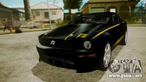 Ford Mustang Shelby Terlingua para GTA San Andreas