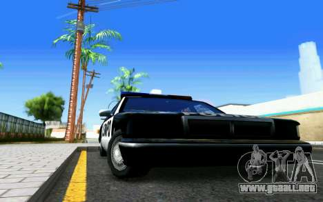 ENB for Medium PC para GTA San Andreas sexta pantalla