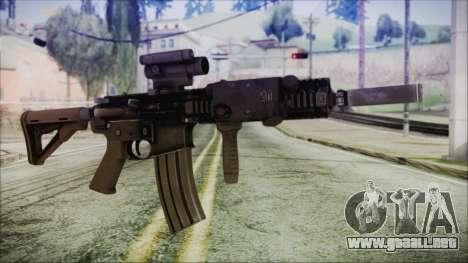 MK18 SEAL para GTA San Andreas