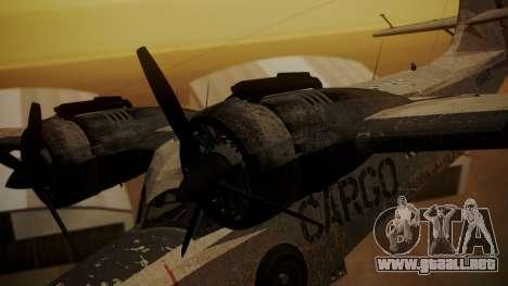 Grumman G-21 Goose N56621 Rusty para la visión correcta GTA San Andreas