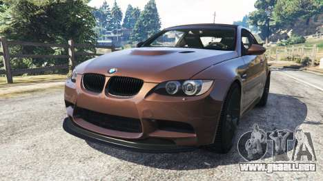 BMW M3 (E92) GTS v0.1 para GTA 5