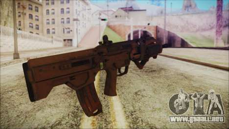 MSBS para GTA San Andreas segunda pantalla