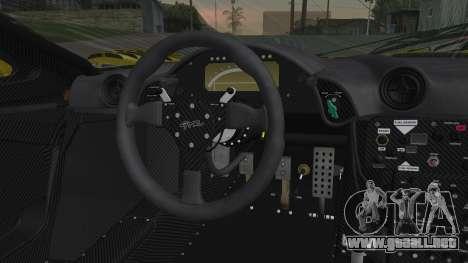 McLaren F1 GTR 1998 Parabolica para la visión correcta GTA San Andreas