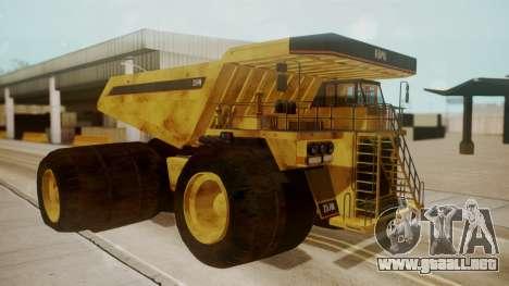 Dump Truck para GTA San Andreas left