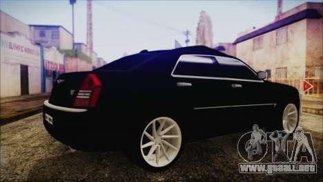 Chrysler 300С Unalturan para GTA San Andreas left