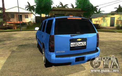 Chevrolet Tahoe para GTA San Andreas left