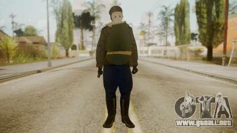 Red Army Cossack - WW2 para GTA San Andreas segunda pantalla
