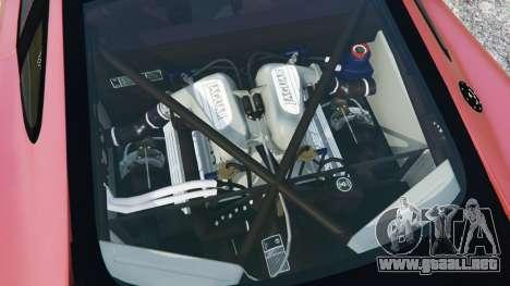GTA 5 Jaguar XJ220 v1.0 vista lateral trasera derecha
