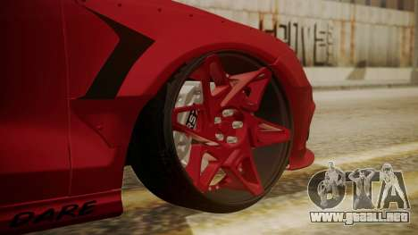 Audi RS7 X-UK L3D para GTA San Andreas vista posterior izquierda