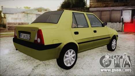 Dacia Solenza para GTA San Andreas left