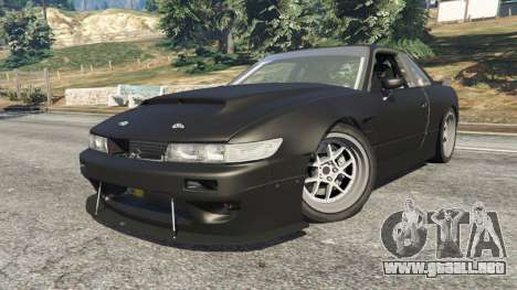 GTA 5 Nissan Silvia S13 v1.2 [without livery] vista lateral derecha