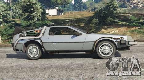 DeLorean DMC-12 Back To The Future v1.0 para GTA 5