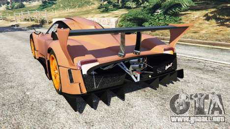 Pagani Zonda R v0.9 para GTA 5